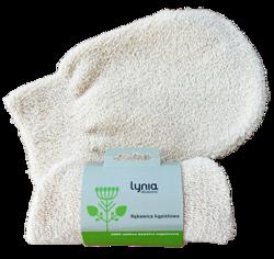 LYNIA Rękawica kąpielowa 100% bawełny