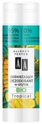 AA BIO dezodorant w sztyfcie Tropical 25g