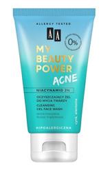AA My Beauty Power Acne Oczyszczający żel do mycia twarzy 150ml