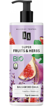 AA Super Fruits&Herbs balsam do ciała figa/lawenda 500ml