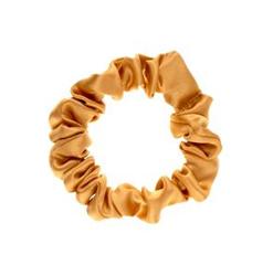 ALMANIA Scrunchie Mała jedwabna gumka do włosów Miodowa