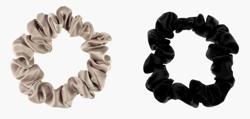 ALMANIA Scrunchie Zestaw jedwabnych gumek do włosów