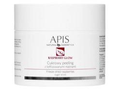 APIS Raspberry Glow Peeling cukrowy 220g