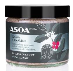 ASOA peeling cukrowy Kawa/Cynamon 250ml