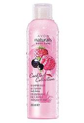AVON naturals Balsam do ciała raspberry&cassis 200ml
