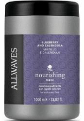 Allwaves Pro Odżywcza maska do włosów z ekstraktem z jagody i nagietka 1000ml