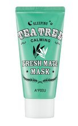 A'pieu Fresh Mate Mask TEA TREE Całonocna kojąca maska do twarzy 50ml
