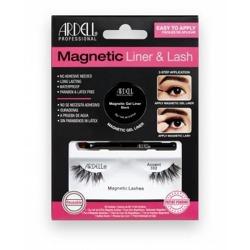 Ardell Magnetic Liner&Lash Magnetyczny eyeliner + sztuczne rzęsy Accent 002