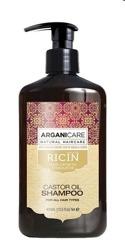 ArganiCare Hair Shampoo CASTOR Szampon do włosów z olejem rycynowym 400ml