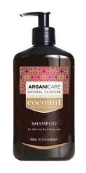 ArganiCare Hair Shampoo COCONUT Szampon do włosów z olejem kokosowym 400ml
