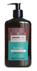 ArganiCare Hair Shampoo SHEA BUTTER Szampon do włosów z masłem shea 400ml