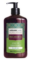 ArganiCare Leave-in Conditioner MACADAMIA Odżywka bez spłukiwania do włosów kręconych z olejem makadamia 400ml