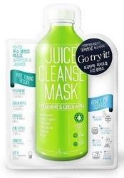 Ariul Juice Cleanse Mask Spearmint&Green Apple Maska do twarzy w płachcie oczyszczająca pory