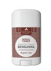 BEN&ANNA Naturalny dezodorant NORDIC TIMBER 60g