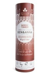 BEN&ANNA Naturalny dezodorant w sztyfcie NORDIC TIMBER 60g