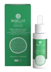 BasicLab Redukcja i zwężenie Serum zmniejszające niedoskonałości z niacynamidem 5% 30ml