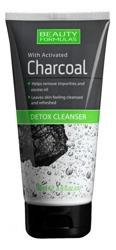 Beauty Formulas Charcoal - Oczyszczający żel do mycia twarzy z aktywnym węglem 150ml