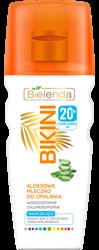Bielenda BIKINI Aloesowe mleczko do opalania SPF20 200ml