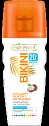 Bielenda BIKINI Kokosowe mleczko do opalania SPF20 200ml