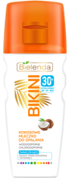 Bielenda BIKINI Kokosowe mleczko do opalania SPF30 200ml