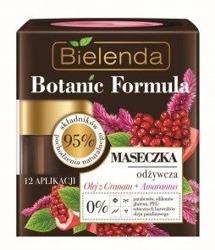 Bielenda Botanic Formula Olej z Granatu + Amarantus Maseczka odżywcza 50ml