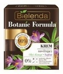 Bielenda Botanic Formula Olej z Konopi + Szafran Krem nawilżający dzień/ noc 50ml