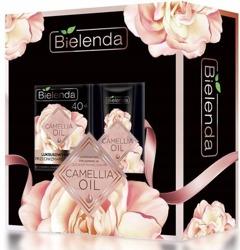 Bielenda Camelia Oil Zestaw prezentowy Krem 40+ przeciwzmarszczkowy dzień/noc + Krem pod oczy