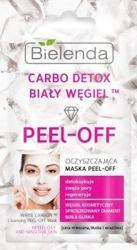 Bielenda Carbo Detox Biały węgiel Oczyszczająca maska PEEL-OFF 2x5g