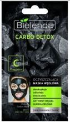 Bielenda Carbo Detox - Oczyszczająca maska węglowa do cery tłustej i mieszanej 8g