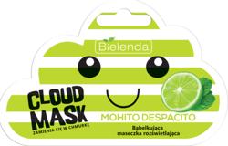 Bielenda Cloud Mask MOHITO DESPACITO Bąbelkująca maseczka rozświetlająca 6g