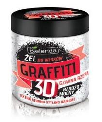 Bielenda Graffiti 3D Żel do włosów z czarną rzepą