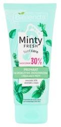 Bielenda Minty Fresh Preparat na uporczywe zrogowacenia i pękające pięty z 30% mocznikiem 100ml