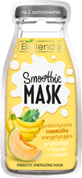 Bielenda Smoothie Care energetyzująca maseczka banan/melon 10ml