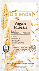 Bielenda Vegan Muesli 2w1 maseczka/peeling nawilżający 8g