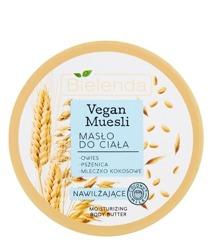 Bielenda Vegan Muesli Masło nawilżające do ciała 250ml