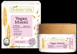 Bielenda Vegan Muesli krem matujący DZIEŃ/NOC 50ml