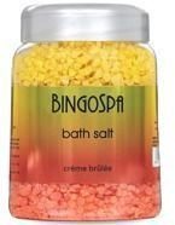 BingoSpa Bath Salt Creme Brulee - Sól do kąpieli 850g