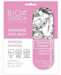 BioLogica Diamond Maska w Płachcie Ekspresowy Blask