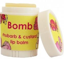 Bomb Cosmetics Balsam do ust Budyń z Rabarbarem 9ml