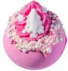 Bomb Cosmetics Musująca kula Pink Christmas 160g