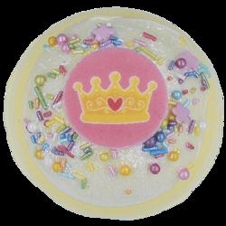 Bomb Cosmetics Musująca kula do kąpieli Crowning Glory 160g