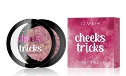 CLARESA CHEEKS TRICKS Prasowany róż do policzków 04 MIRAGE 4g