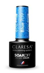 CLARESA Lakier hybrydowy Blue 709 5g
