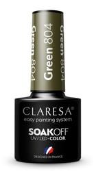 CLARESA Lakier hybrydowy Green 804 5g