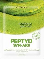 CONNY Maska przeciwzmarszczkowa w płachcie PEPTYD SYN-AKE