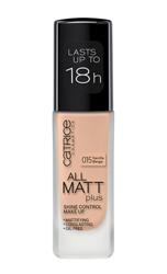 Catrice All Matt Plus Shine Control Make Up -  Podkład matujący 015 Vanilla Beige, 30 ml