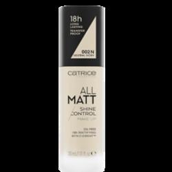 Catrice All Matt Shine Control Podkład matujący 002N Neutral Ivory 30 ml