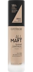 Catrice All Matt Shine Control Podkład matujący 015C Cool Vanilla Beige 30  ml