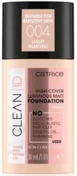 Catrice CLEAN ID High Cover Luminous Matt Foundation Kryjąco-matujący podkład do twarzy 004 30ml