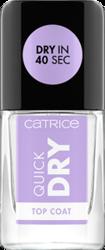 Catrice Quick Dry Top Coat Szybkoschnący top do paznokci 10,5ml